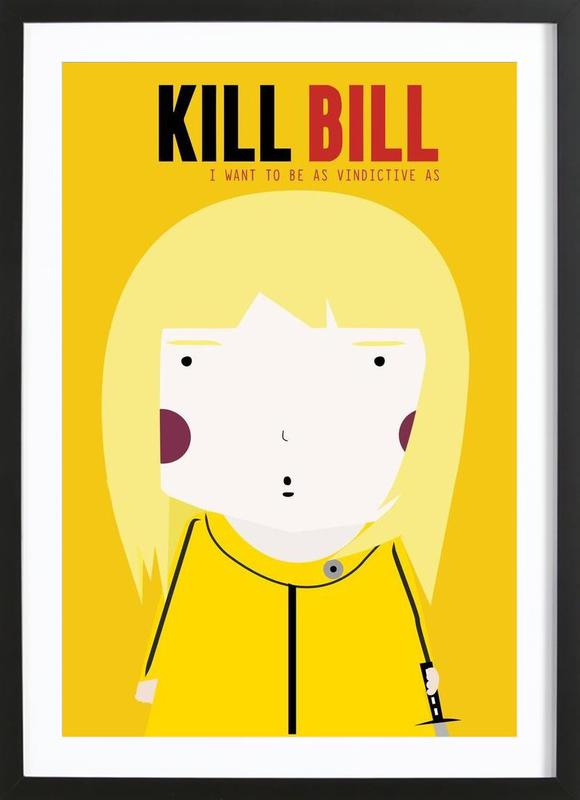 Little Kill Bill ingelijste print
