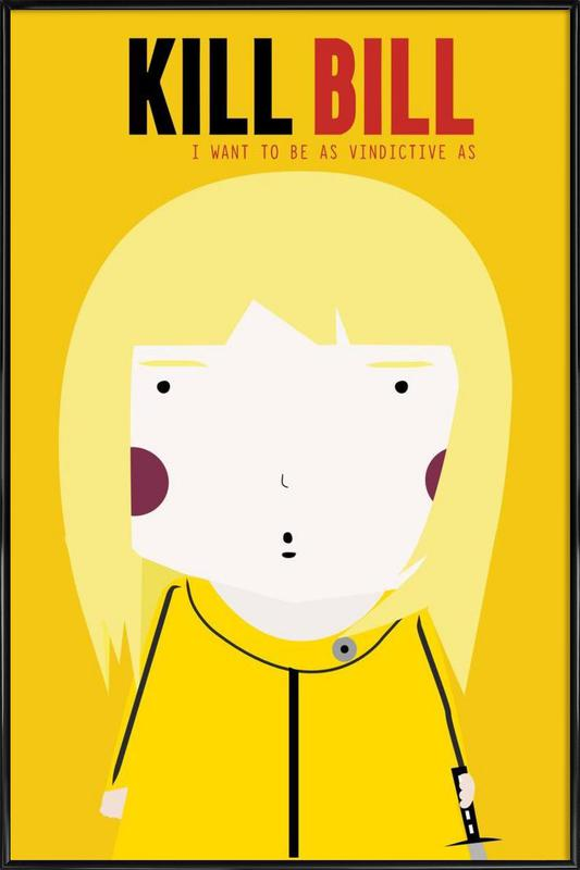 Little Kill Bill ingelijste poster
