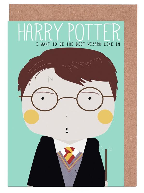 Little Harry Greeting Card Set