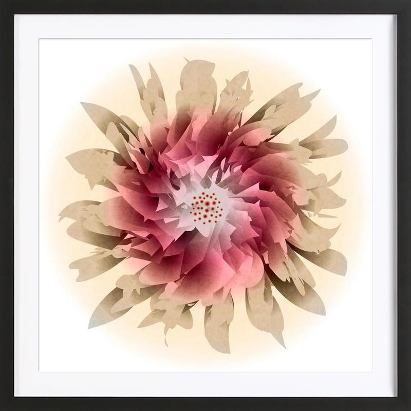 Let the Happiness in Framed Print