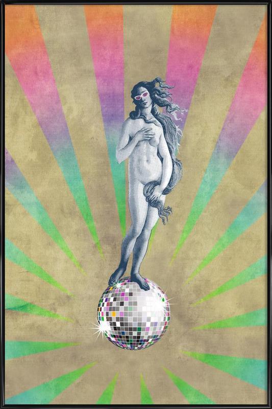 Disco Venus Framed Poster