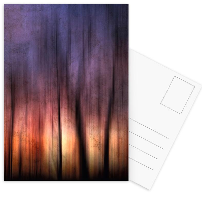 A Blurred Sunset Preview Postcard Set