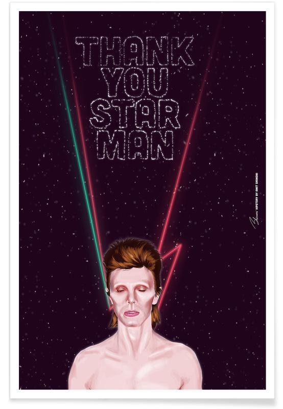 Bowie -Poster