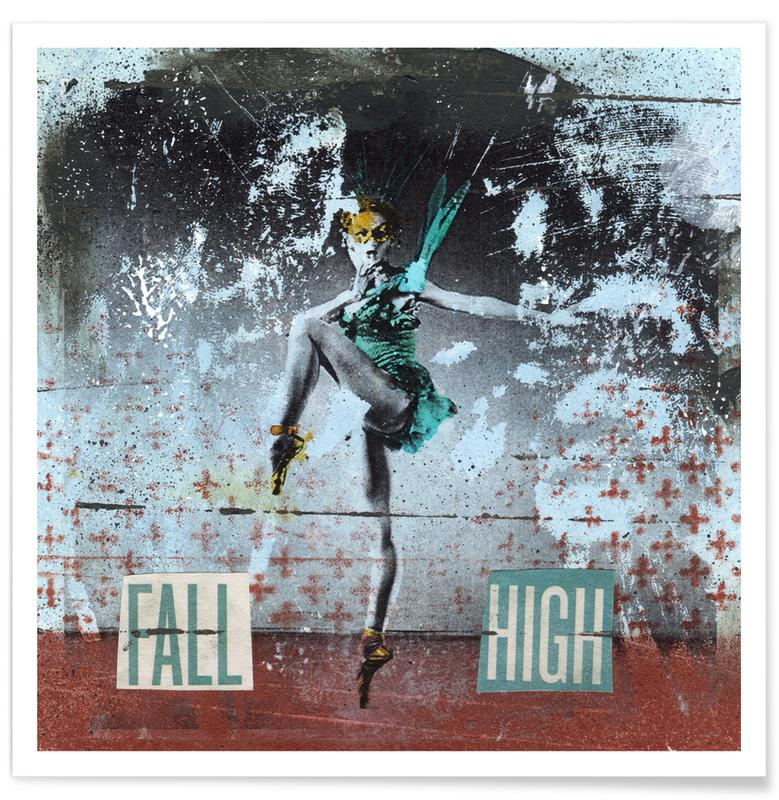 Fall High Poster