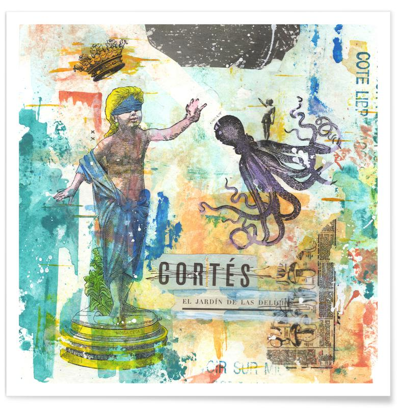 Cortes Poster