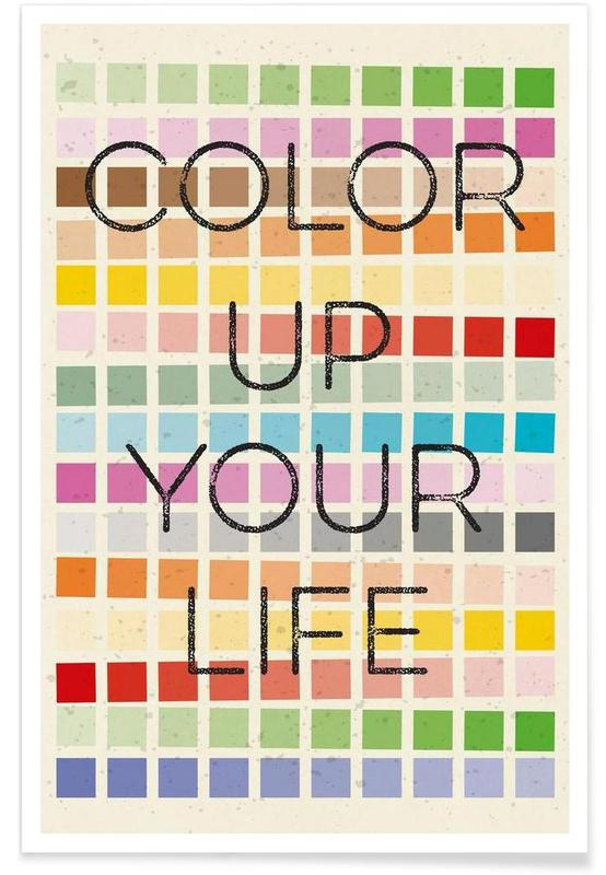 Color up your life -Poster