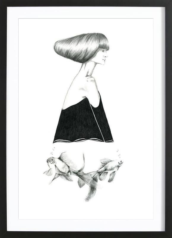 B1 Framed Print