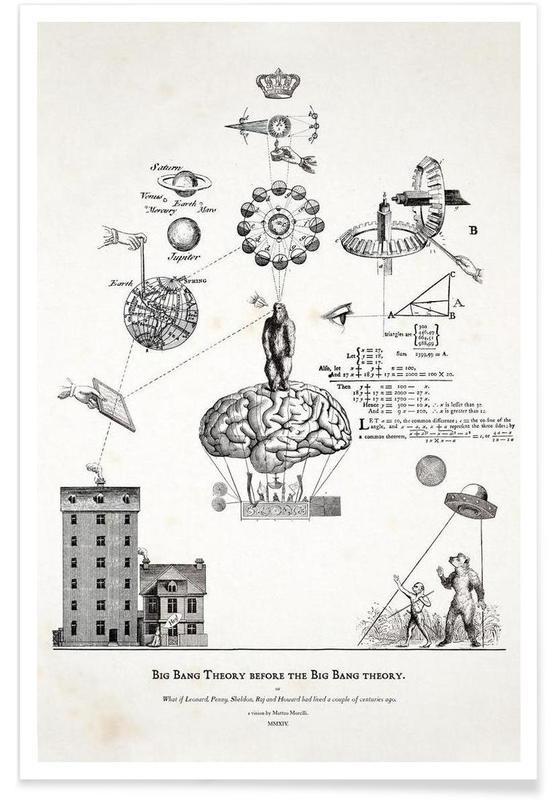 Big Bang Theory before the Bing Bang theory -Poster