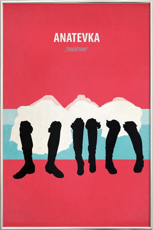 Anatevka Poster in Aluminium Frame