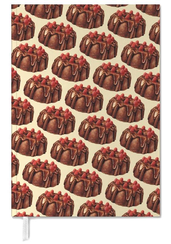 Chocolate Bundt Cake Pattern Personal Planner