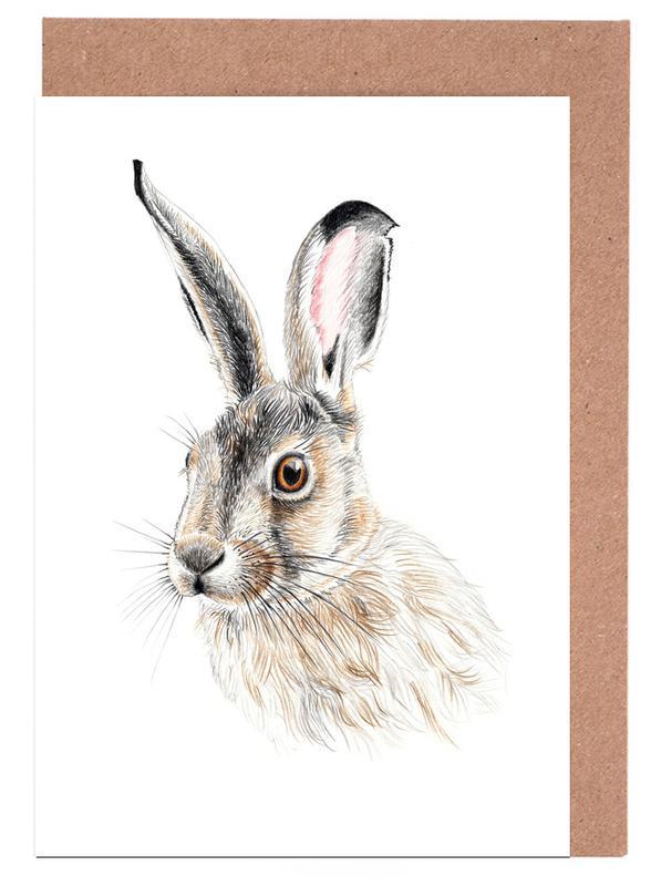 Rabbit Greeting Card Set