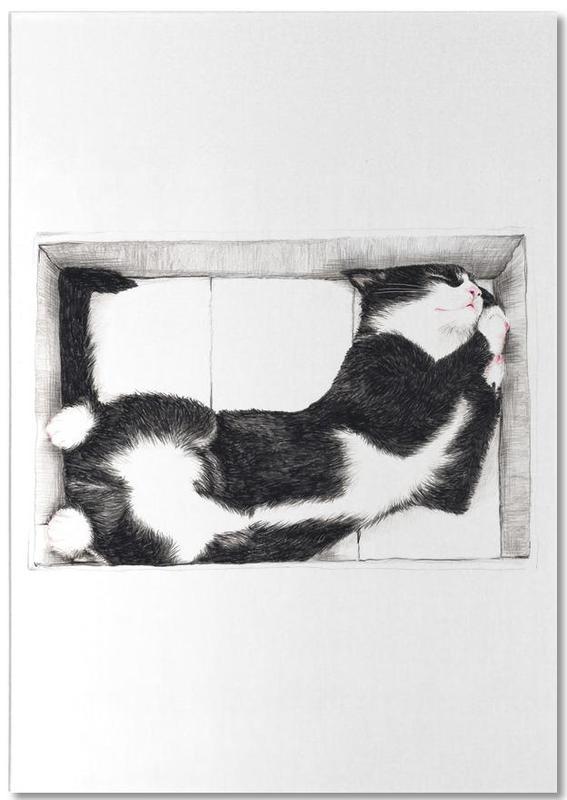 Katze im Karton Notepad
