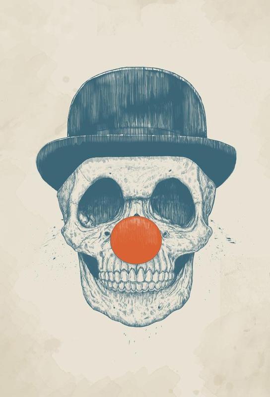 Dead Clown Impression sur alu-Dibond