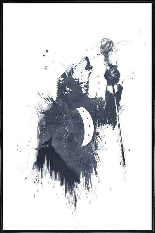 Wolf Song Framed Poster