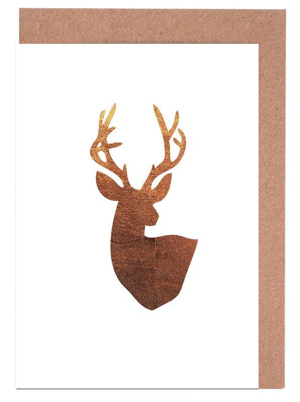 Hirsch Kupfer Greeting Card Set