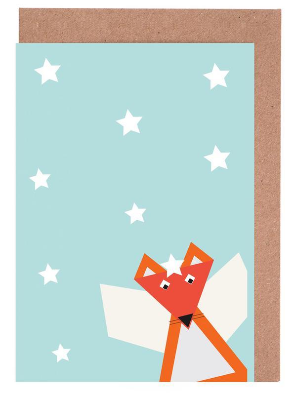 Xmas Fox cartes de vœux