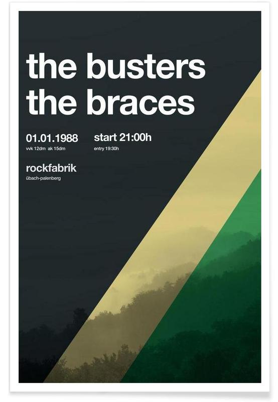 The Busters -Poster