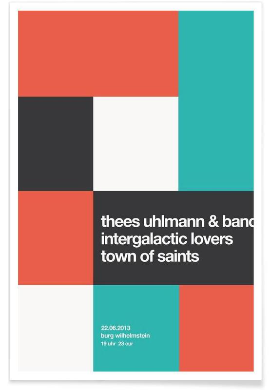 Thees Uhlmann & Band -Poster
