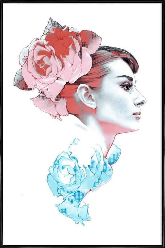 Audrey II -Bild mit Kunststoffrahmen