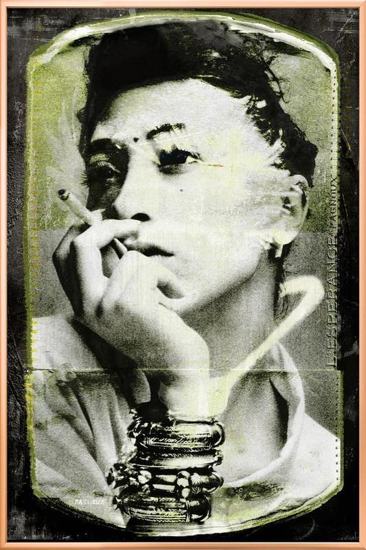 L'espérance Poster in Aluminium Frame