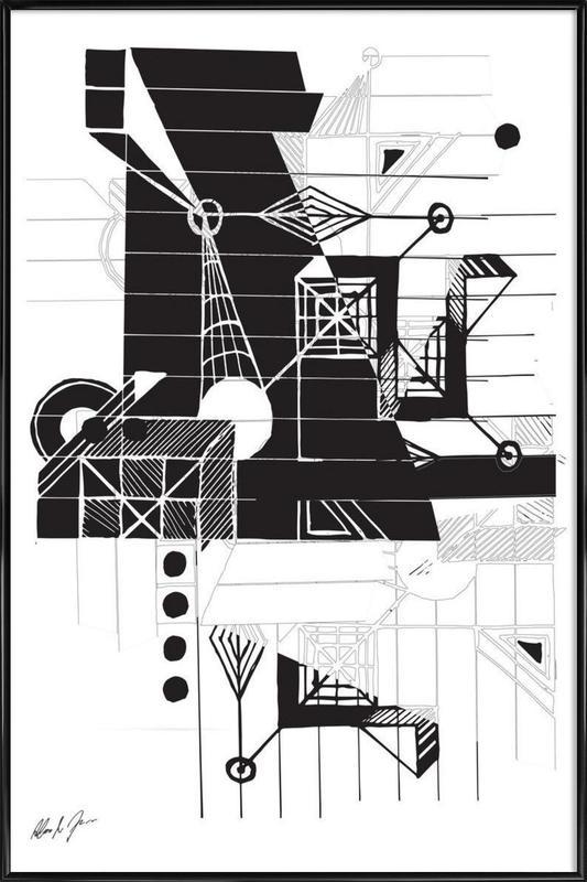 BW1 Framed Poster