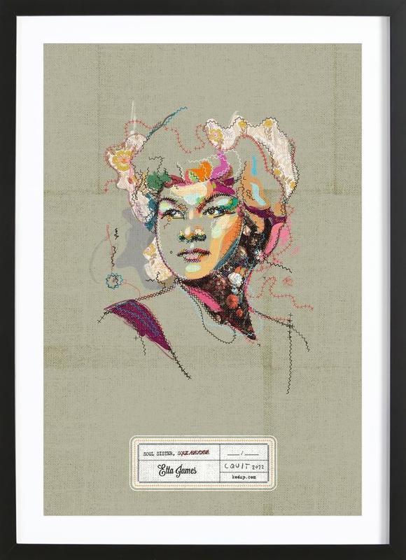 Etta Portrait Framed Print