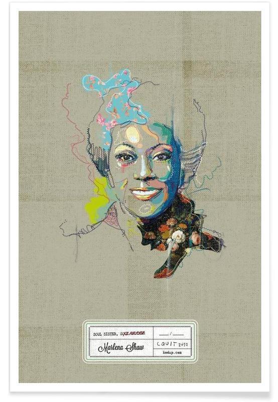 Marlena Portrait poster
