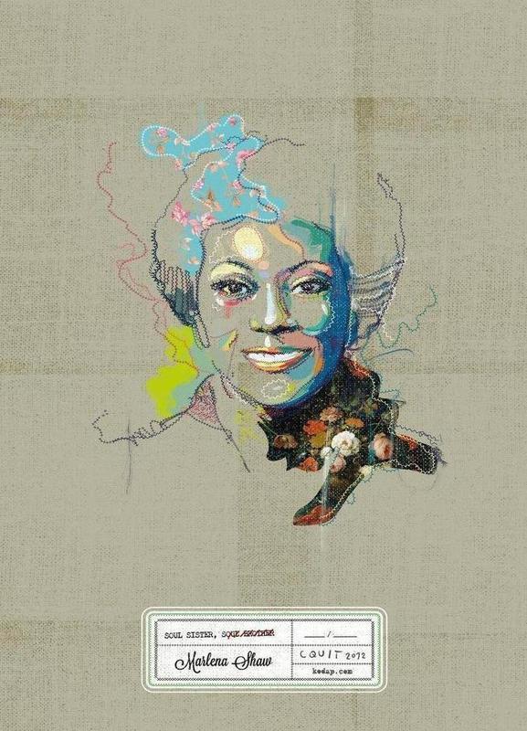 Marlena Portrait canvas doek