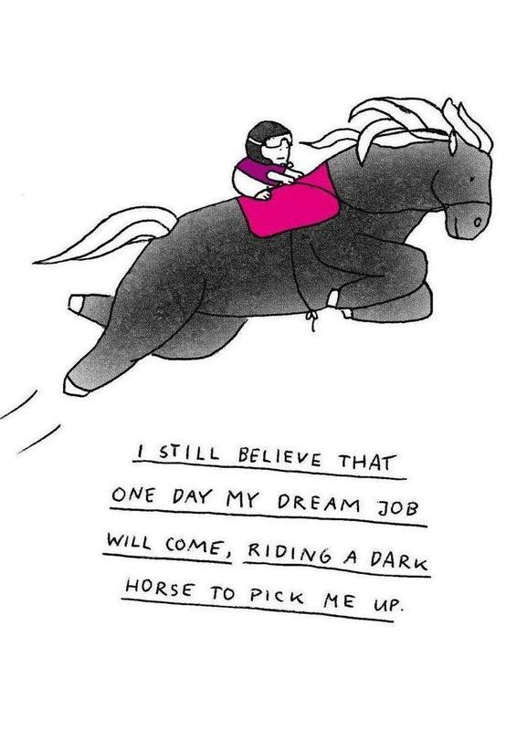 Dream Job Canvas Print