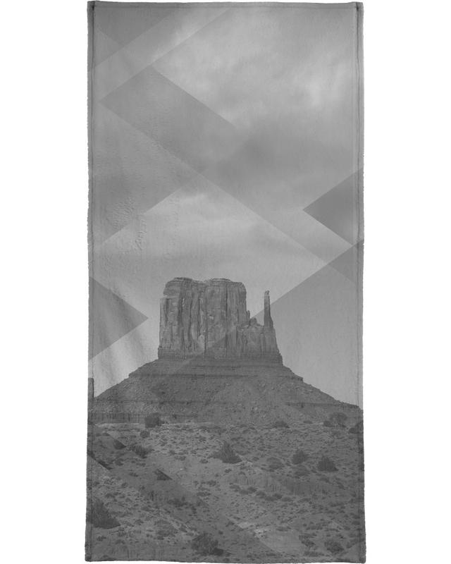 Scattered 4 Monument Valley Bath Towel