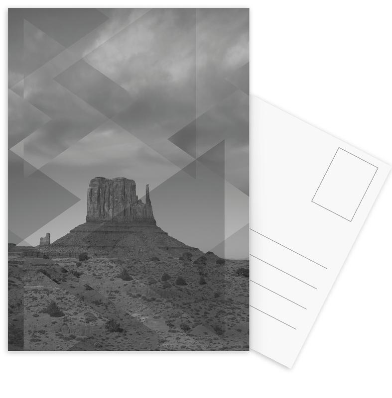 Scattered 4 Monument Valley Postcard Set