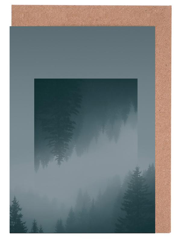 Mirrored 1 Forest Greeting Card Set
