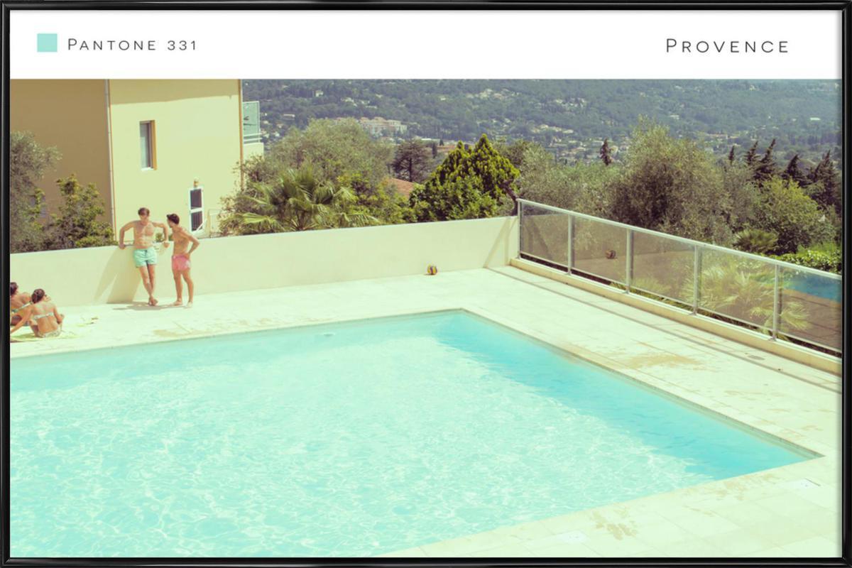 Provence 331 affiche encadrée
