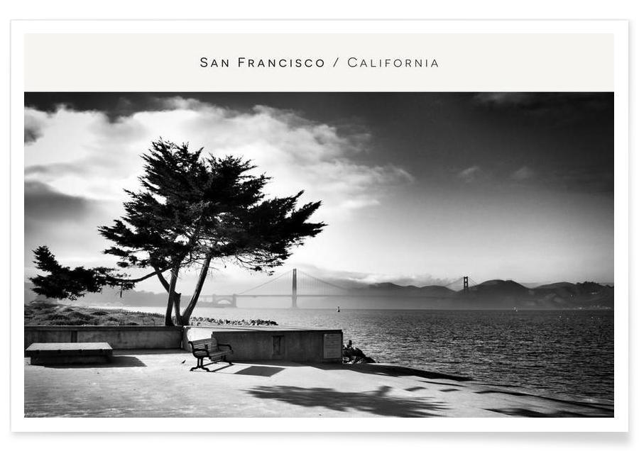 San Fransisco B&W -Poster