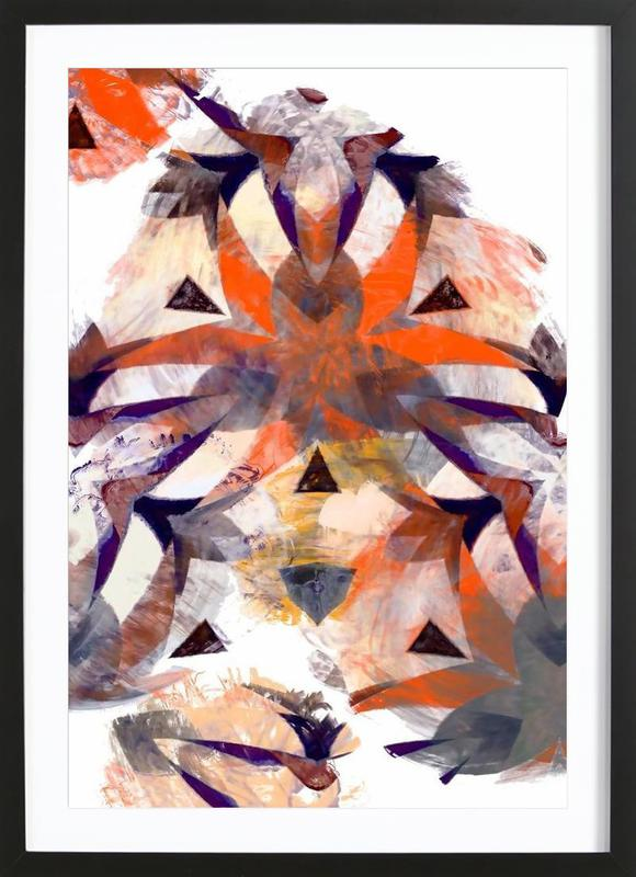 Abstract Sketch 4 Framed Print