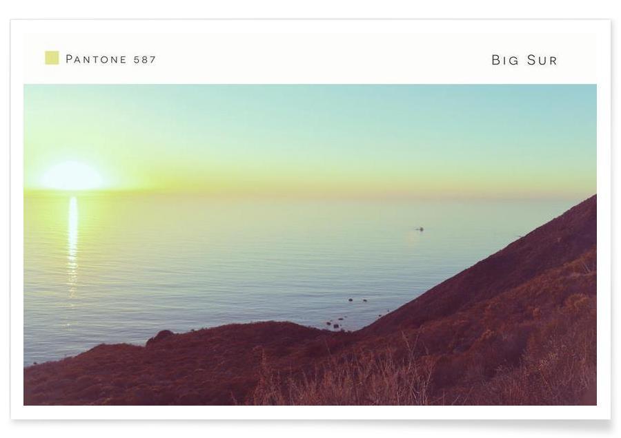 Big Sur Pantone 587 -Poster