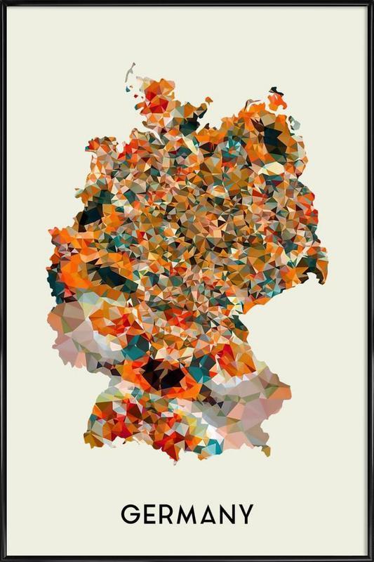 Germany Framed Poster