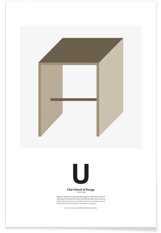 U - Ulm Poster