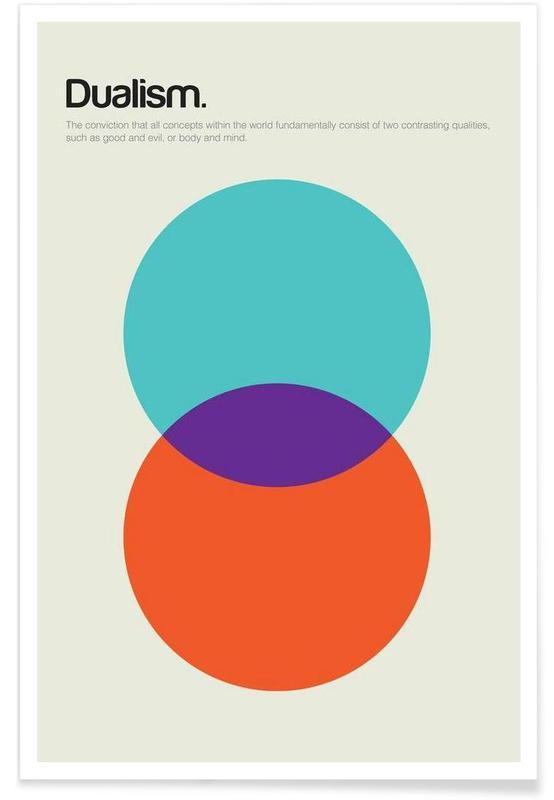 Dualism - Minimalistic Definition Poster