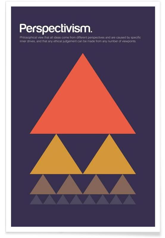 Perspectivism - Minimalistic Definition Poster