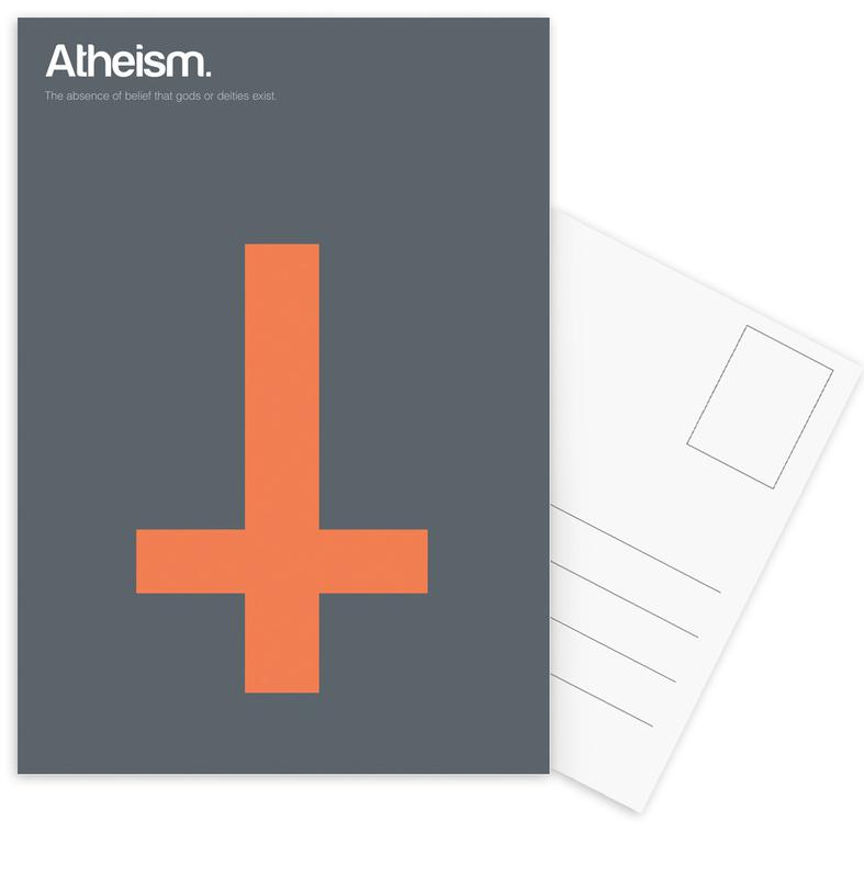 Atheism -Postkartenset
