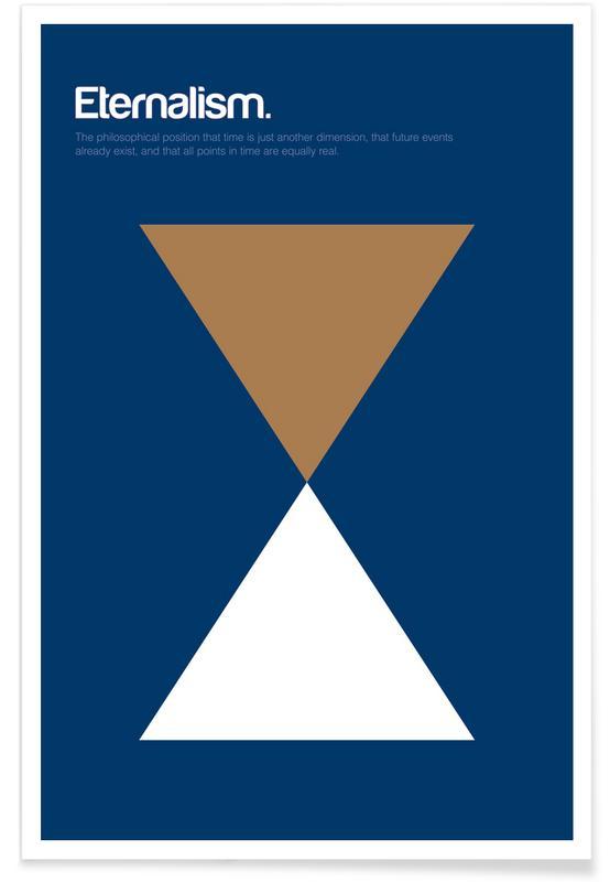 Éternalisme - Definition minimaliste affiche