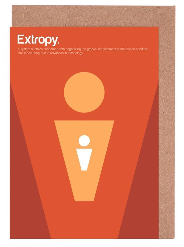 Extropy Greeting Card Set