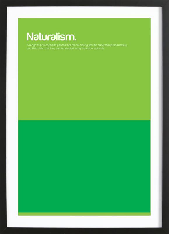 Naturalism Framed Print