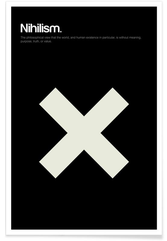 Nihilism - Minimalistic Definition Poster