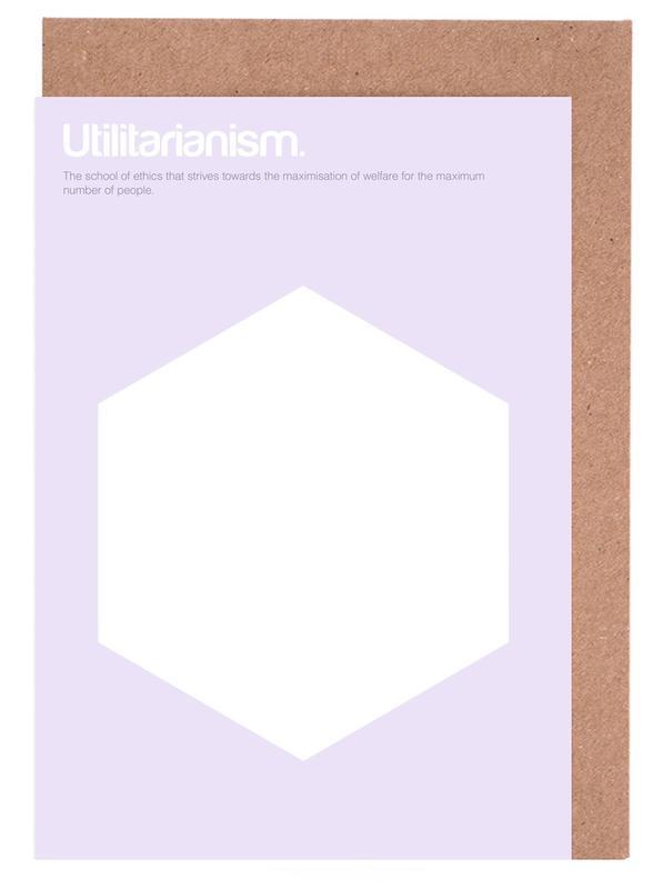 Utilitarianism Greeting Card Set