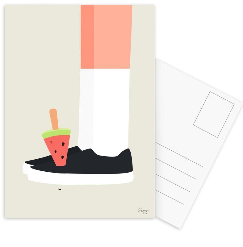 Knæstrømper cartes postales