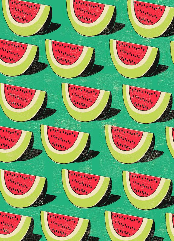 Melons Canvas Print