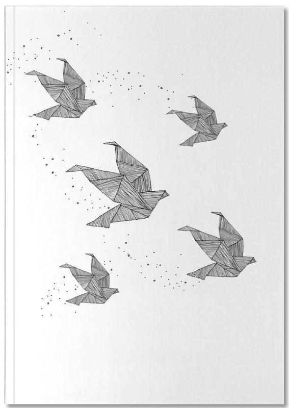 Origami Birds Notebook