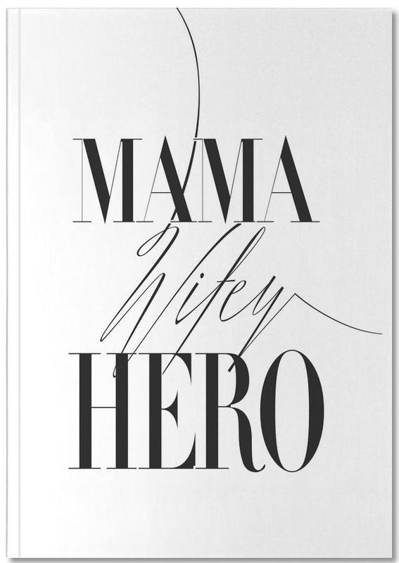 Mama Wifey Hero Notebook